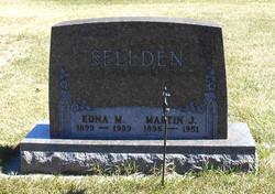 Edna Mathilda <I>Walz</I> Sellden