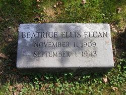 Beatrice <I>Ellis</I> Elcan