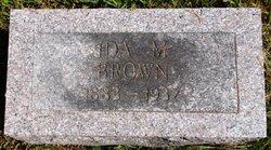 Ida M. <I>Horn</I> Brown
