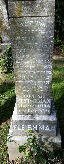 Ida M. <I>Finger</I> Fleishman