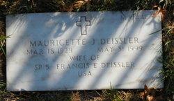 Mauricette J Deissler
