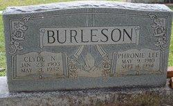 Phronie Lee <I>Morgan</I> Burleson