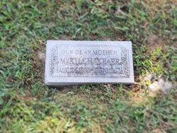 Myrtle May <I>Morris</I> Barr