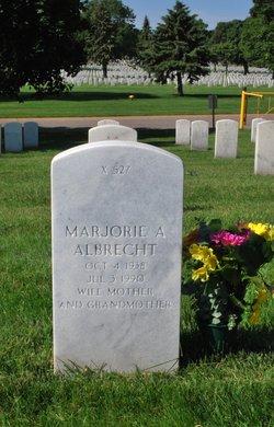 Marjorie A Albrecht
