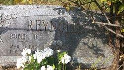 Robert D Reynolds