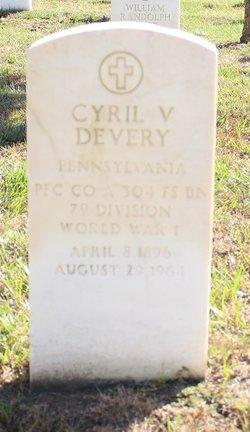 Cyril V Devery