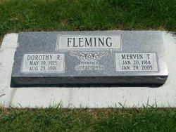 Dorothy R Fleming