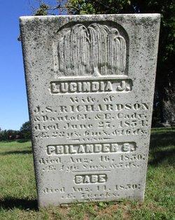 Lucinda J. <I>Cady</I> Richardson
