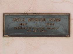 Anita Spencer <I>Yates</I> Webb