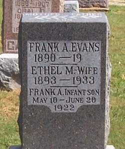 Ethel Mary <I>Stearns</I> Evans