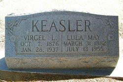 Lula May <I>Pitts</I> Keasler