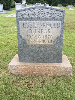 Jessie <I>Arnold</I> Dunbar