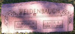 Kate Bertha <I>Yerger</I> Weidenbaugh