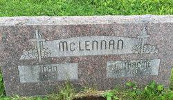 Catharine L <I>Schwartze</I> McLennan