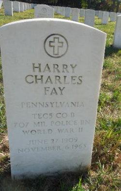 Harry Charles Fay