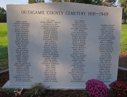 Outagamie County Cemetery