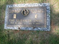 Edie Elizabeth <I>West</I> Smith