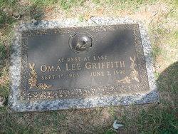 Oma Lee <I>West</I> Griffith