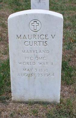 Maurice V Curtis