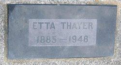Etta M. Thayer