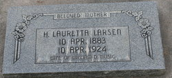 Hannah Lauretta <I>Larsen</I> Musig