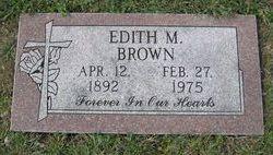 Edith <I>Mackey</I> Brown