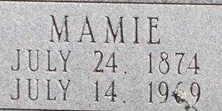 """Mary Magnolia """"Mamie"""" <I>Richards</I> Boatman"""