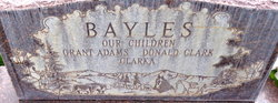 Pearl Bernice <I>Adams</I> Bayles