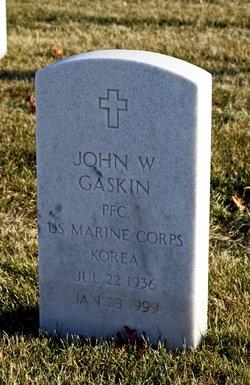John W Gaskin