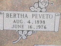 Bertha <I>Peveto</I> Lincecum