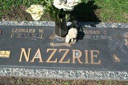 "Leonard Wright ""Dub"" Nazzrie"