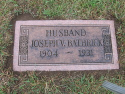Joseph Vernon Bathrick