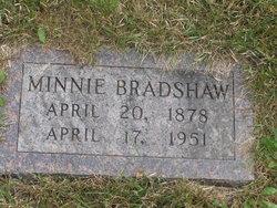 Minnie <I>Kellner</I> Bradshaw
