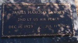 "James Harold ""Bud"" Barnes"