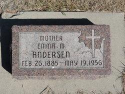 Emma M <I>McMullen</I> Andersen