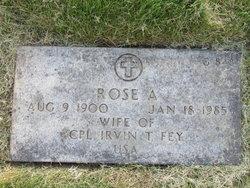 Rose Alma <I>Goyer</I> Fey