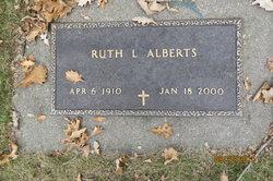 Ruth I <I>Canfield</I> Alberts