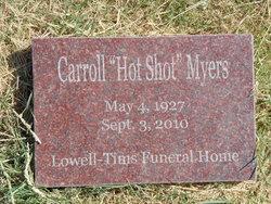 "Rufus Carroll ""Hot Shot"" Myers"