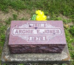 Archie E Jones