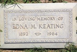 Mrs Edna May <I>Clendenning</I> Keating