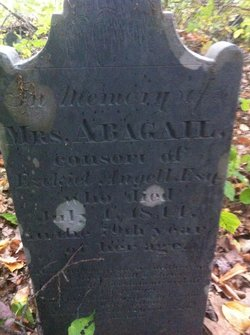 Abigail <I>Thornton</I> Angell