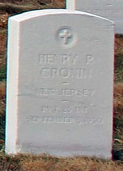 Henry P Cronin