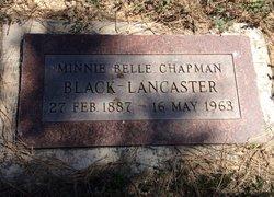 Minnie <I>Chapman</I> Black