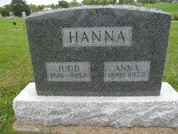 """Lute Judson """"Judd"""" Hanna"""