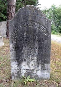 Mary Abbott <I>Curtis</I> Allen