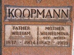 Wilhelmina <I>Weber</I> Koopmann
