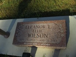 "Eleanor L ""Ellie"" <I>Stocksdale</I> Wilson"