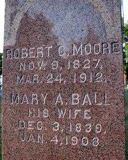 Mary A. <I>Ball</I> Moore