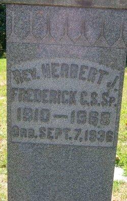 Rev Herbert J Frederick
