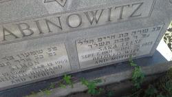 Sara <I>Leese</I> Abinowitz